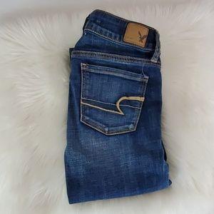 AE Super Stretch skinny jeans size 0